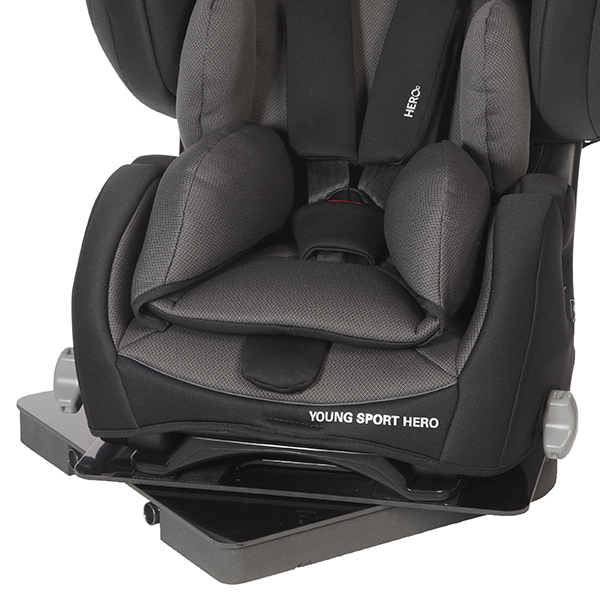 Car Seat For Disabled Children With A Swivel Base
